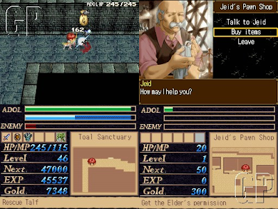 Legacy of Ys: Books I & II DS