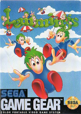 Lemmings Sega Game Gear