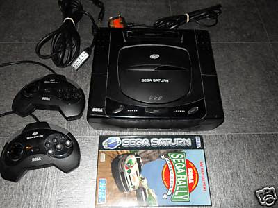 Sega Saturn Sega Rally