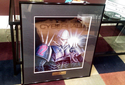 Atari Cyberball Art