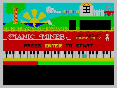 Manic Miner ZX Spectrum