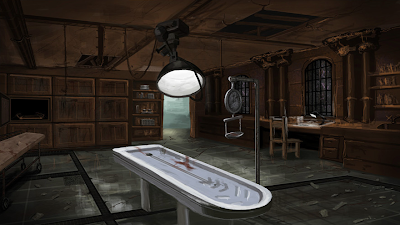Asylum concept art