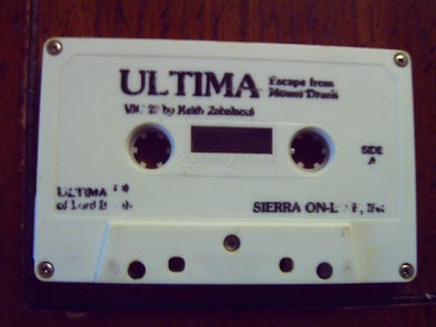 Ultima Escape from Mt. Drash Sierra tape