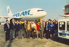 THE LAST PAN-AM FLIGHT FROM ROME - ITALY
