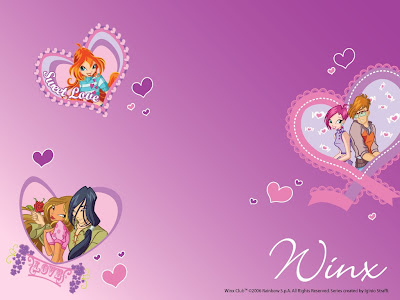 winx club wallpapers. Winx Love Wallpapers