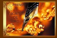 """PREMIO """"ESCRITOS DE ORO"""""""
