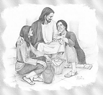 Jesus sonriendo