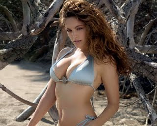 Kelly Brook in Bikinis photos
