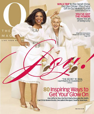 Oprah And Ellen on O Magazine Cover December 2009 photos