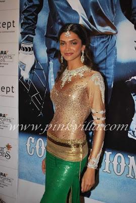 Deepika at Indian Express Sahara Sports Awards images