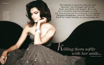 Deepika Padukone In Verve Magazine November 2009 pics