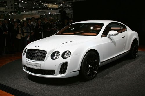 Bentley Continental Supersports. ways Bentley Continental