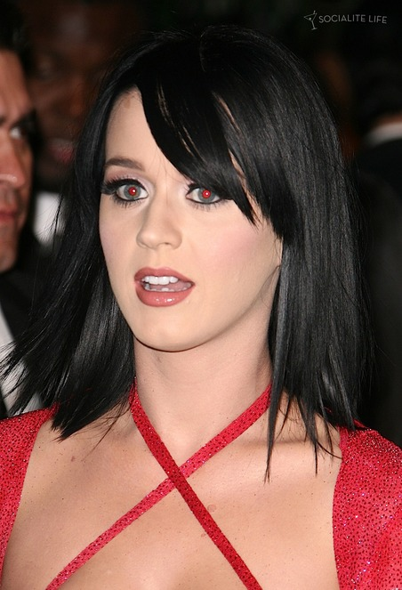online news blog katy perry red hot at the samsung behold