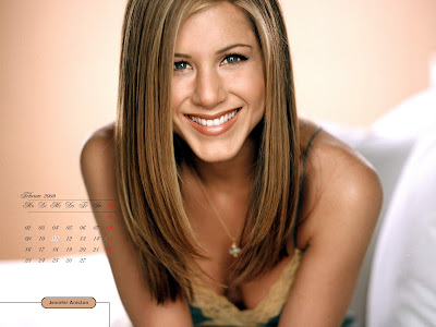 Jennifer Aniston Desktop Calendar april pics