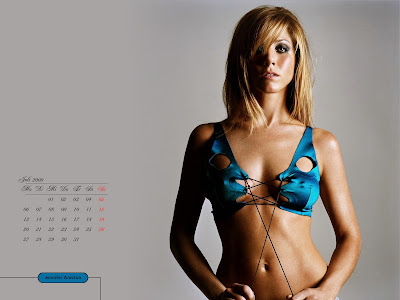 Jennifer Aniston Desktop Calendar september pics