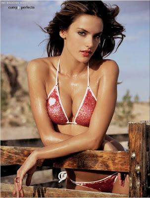 Alessandra Ambrosio in Bikini for DT Magazine pictures pics