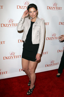 Katie Holmes Legi at Dizzy Feet Foundations Inaugural Celebration photo