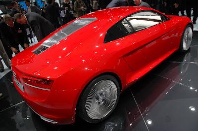 Audi E-Tron new images