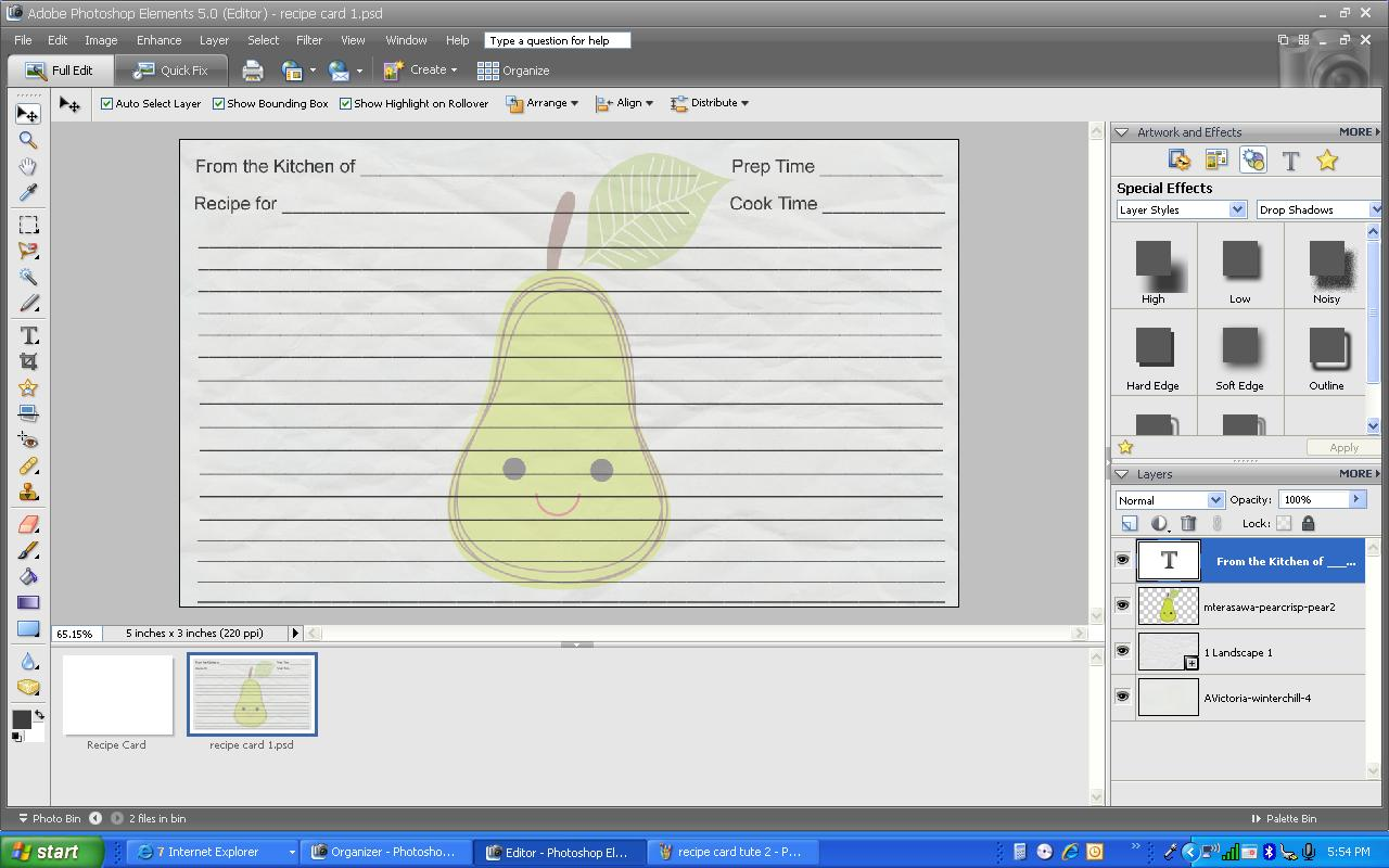 Custom Card Template Free Recipe Card Template For Word : Free Recipe Card  Templates For Microsoft