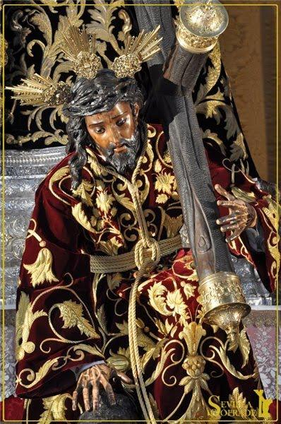 semana santa malaga 2009 stmo cristo de la buena muerte. -Stmo Cristo de las tres