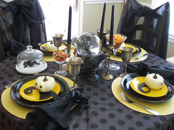 Brookhollow Lane Nightmare Before Christmas Tablescape