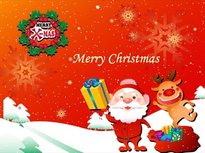 animated xmas wallpaper. Animated Wallpapers Information for Windows XP, Vista and Windows 7.