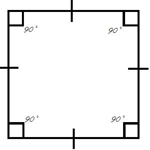 how to find side lengths of square with diagonal