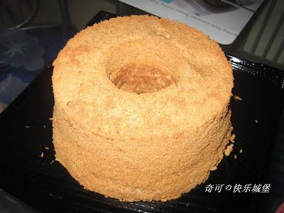 咖啡戚风 蛋糕