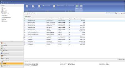 dynamics gp 2013 project accounting manual
