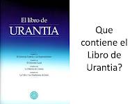 contenido del Libro de Urantia