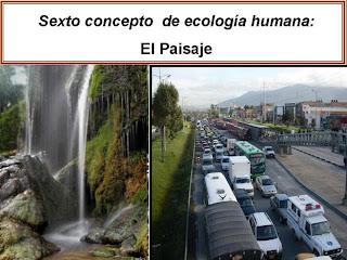 Ecologia humana el paisaje