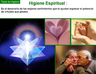Definicion de higiene espiritual