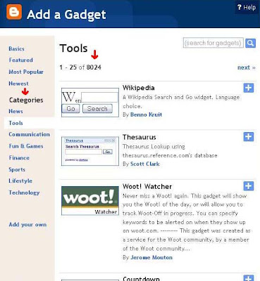 blogger-gadgets,blogging tips