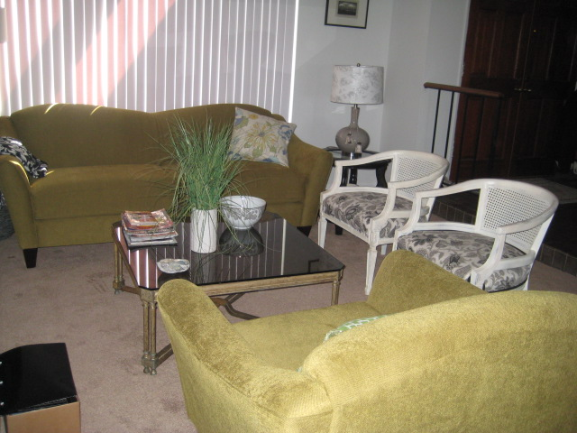 Professional Home Staging Interior Design My Green Sofa And Chair