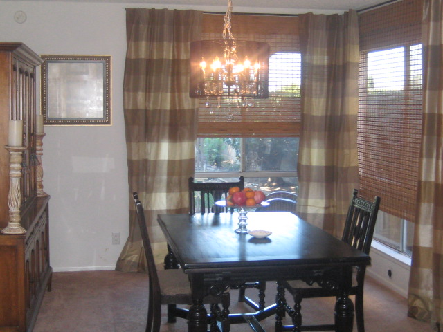 Professional Home Staging Interior Design Dining Room Window
