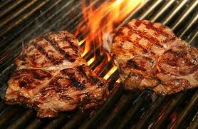 Australian Angus Beef Steak on the Grill