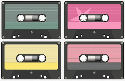 Printable Retro Cassette Tape