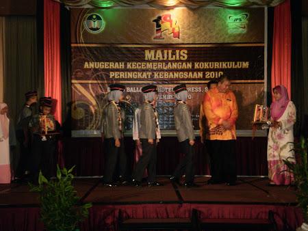 MAJLIS ANUGERAH KOKURIKULUM PERINGKAT KEBANGSAAN 2010