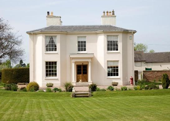 Georgian houses the hill house diaries for Classical style house