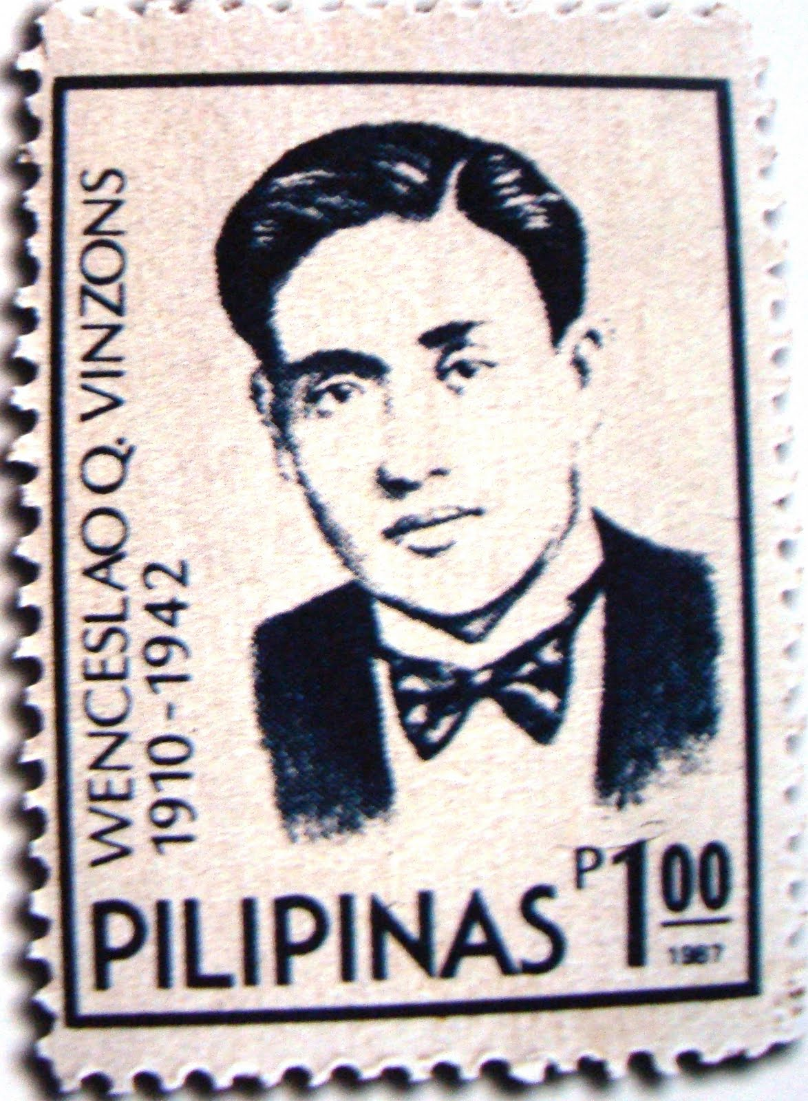 Vinzons Philippines  city images : The Anthem Philatelist: Wenceslao Vinzons on Stamps