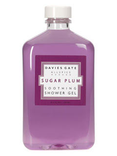 Davies Gate, Davies Gate Sugar Plum Soothing Shower Gel, shower gel, body wash