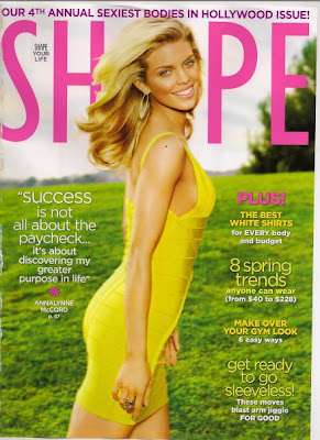 AnnaLynne McCord, Shape Magazine, magazine cover, Gregory Arlt, M.A.C, MAC, M.A.C Cosmetics, MAC Cosmetics, makeup, makeup artist