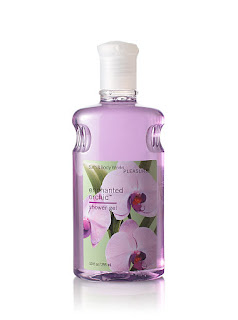 Bath and Body Works, body wash, shower gel, wash, gel, Enchanted Orchid, Signature Collection, orchid