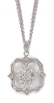 Leslie Greene Monarch Cushion Pendant, Leslie Greene, jewelry, 12 Blings of Christmas