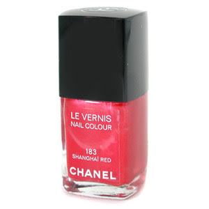 Chanel, Chanel Le Vernis, Chanel Le Vernis Nail Colour, Chanel nail color, Chanel nail colour, Chanel nail polish, nail, nails, nail polish, Chanel Shanghai Red, Shanghai Red, red nail, red nails, red nail polish, manicure