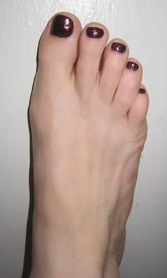 Deborah Lippmann, Deborah Lippmann nail polish, Deborah Lippmann Ruby Red Slippers, nail, nails, nail polish, polish, lacquer, nail lacquer, pedi, pedicure, Soho Sanctuary, Soho Sanctuary pedicure