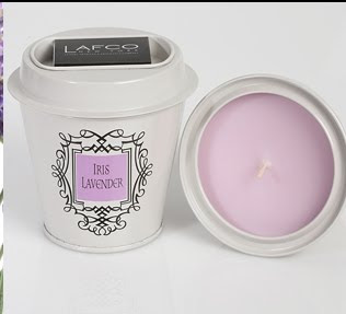Lafco New York, Lafco New York candle, Lafco New York Little Luxuries, Lafco New York Iris Lavender, Lafco New York Iris Lavender Little Luxuries Candle, candle, home fragrance