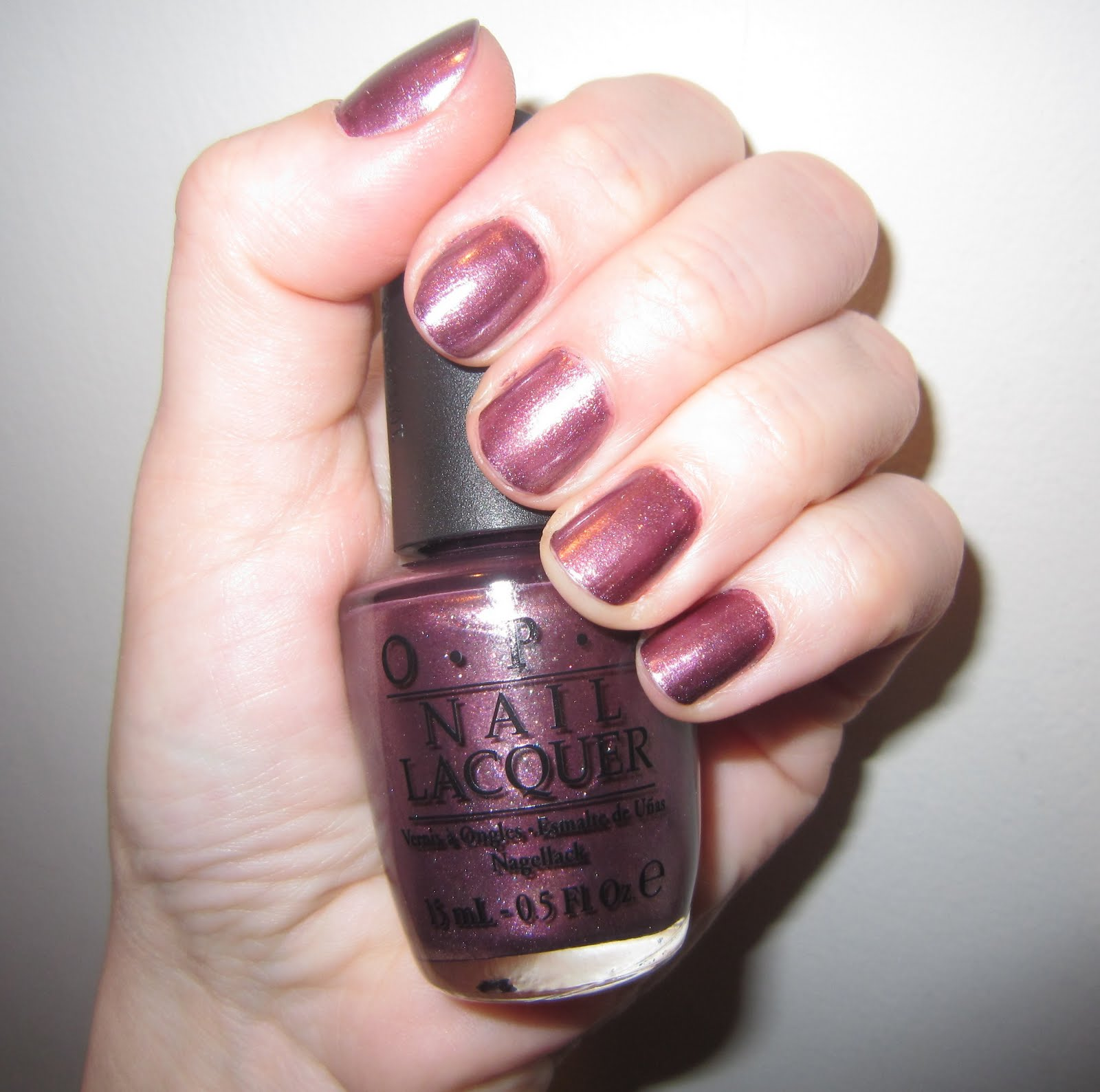 My Latest Mani  OPI Meet Me on the Star FerryOpi Meet Me On The Star Ferry