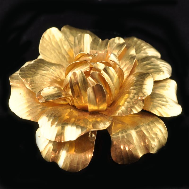 Collectingfinejewels the golden flower power by cartier and tiffany