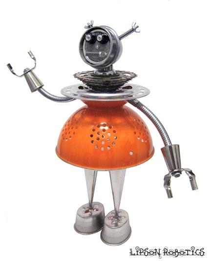 Best interior design ideas robot girls recycled kitchen gadgets - Recycled interior design ideas ...